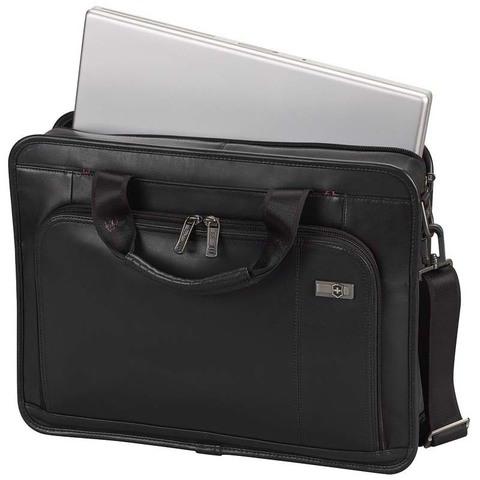 Портфель Victorinox Architecture 3.0 Wainwright 15,6'', черный, 42x10x32 см, 11 л