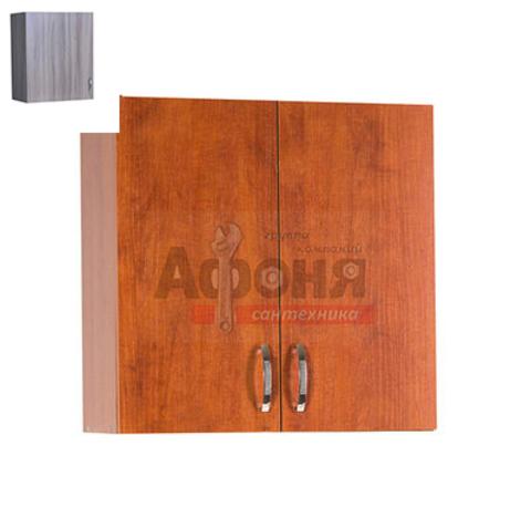 Шкаф для посуды 60 цвет дуб темный (с сушкой) (ЛДСП)