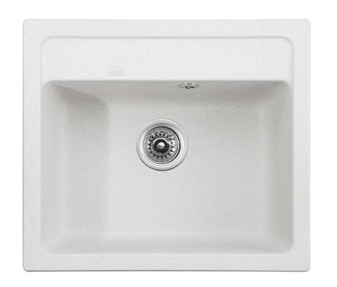 Кухонная гранитная мойка Kaiser KGM-5750-W белый