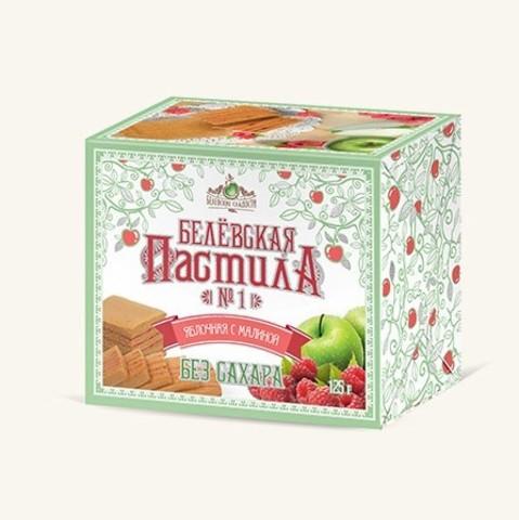 Белевская пастила с малиной без сахара купить в Ростове