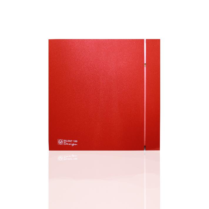 Silent Design series Накладной вентилятор Soler & Palau SILENT 100 CHZ DESIGN RED (датчик влажности) 005ред.jpeg
