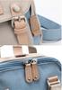 Рюкзак Doughnut Macaroon Mini Classic Синий + Бежевый