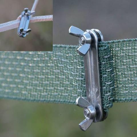 Крепеж для лент электропастуха Olli, винтовое крепление, фото