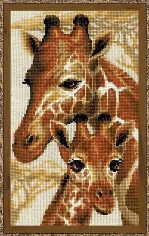 Набор для вышивания крестом «Жирафы» (1697)