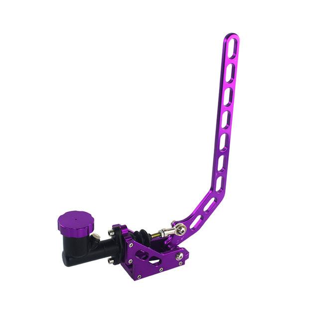 Гидроручник алюминиевый с вертикальной ручкой и доп бачком, цвет фиолетовый