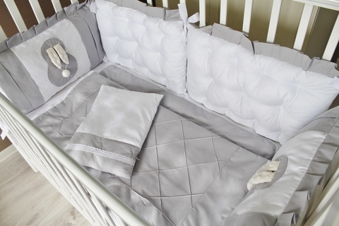 Комплект постельного белья Sweet Baby, 4 стороны кроватки