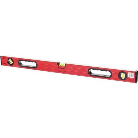 Уровень алюминиевый, 1000 мм, фрезерованный, 3 глазка (1 поворотный), две ручки, усиленный Matrix