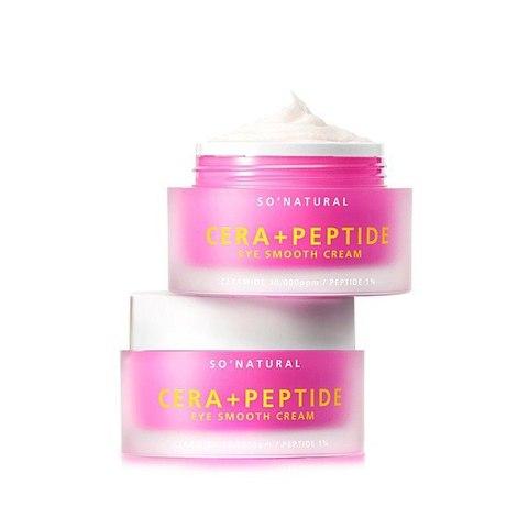 So Natural Cera+ Peptide Eye Smooth Cream