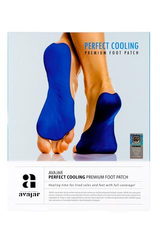 Охлаждающая маска для ног 1 упаковка (1 пара) Perfect Cooling Premium Leg Patch, AVAJAR