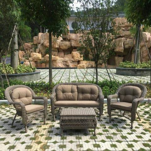 Комплект мебели из иск.ротанга LV520BB Beige/Beige