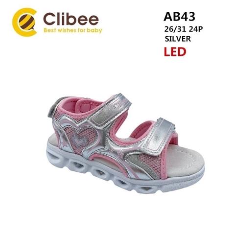 Clibee AB43 Silver 26-31
