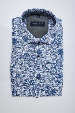 Casa Moda Casual FIT Рубашка со штампами