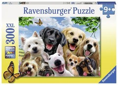 Puzzle Delighted Dogs 300 pcs