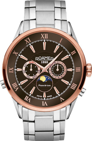 Часы мужские Roamer 508 821 47 63 50 Superior moonphase
