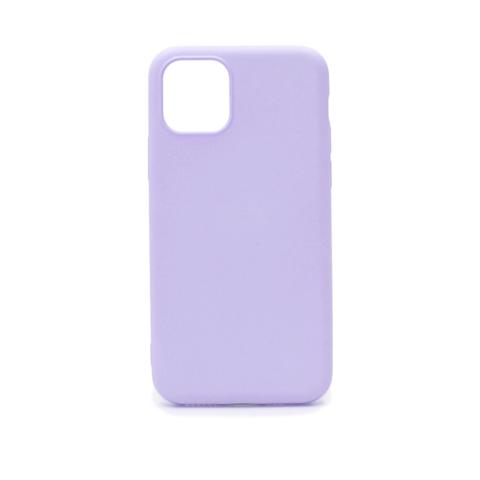 Чехол для iPhone 11 Pro Софт тач мягкий эффект | микрофибра сиреневый