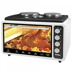 Мини печь | Духовка электрическая 40л DELTA АD-999 с 3-мя электроконфорками (рестайлинг)