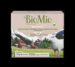 """Стиральный порошок """"Splat BioMio"""" WHITE без запаха 1500г"""