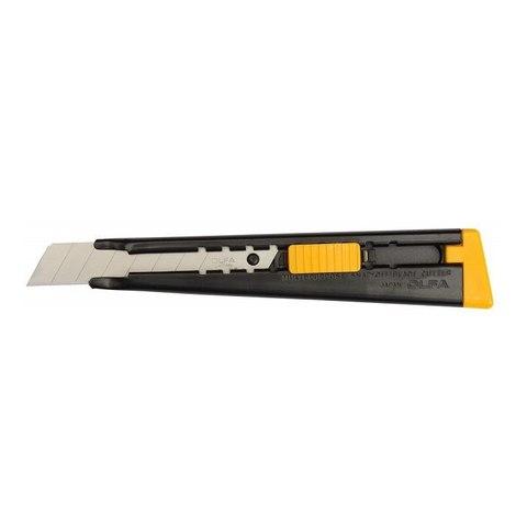 Нож OLFA металлический с выдвижным лезвием, автофиксатор, 18мм
