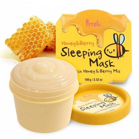 Prreti Honey & Berry Sleeping Mask ночная маска с мёдом акации и ягодами