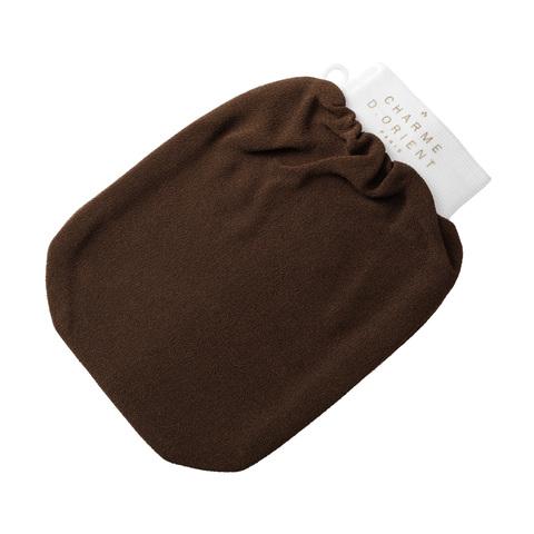 CHARME D'ORIENT | Кесса (рукавица для пилинга), жесткая, цвет-каштан / Kassa Qualité Supérieure,