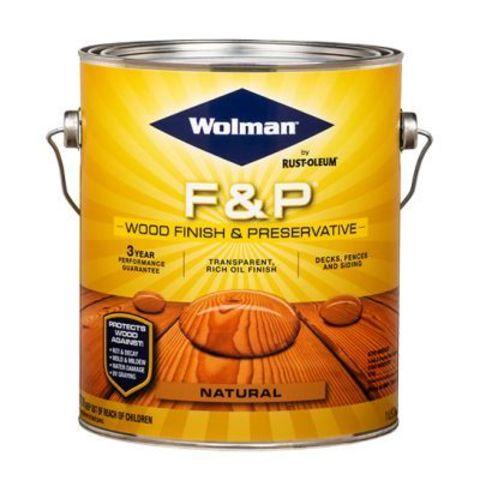 Wolman Finish&Preservative защитное масло с воском