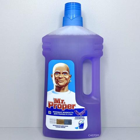 Средство для мытья пола Mr. Proper 1 л