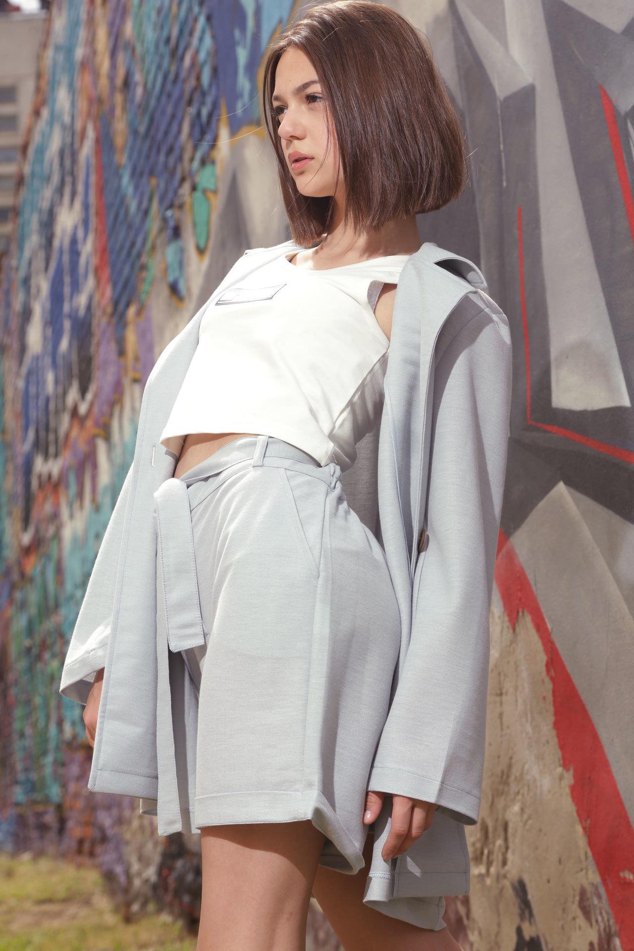 Комплект для девочки пиджак, шорты, топ Brows Kids Турция, 7418 (128-164)