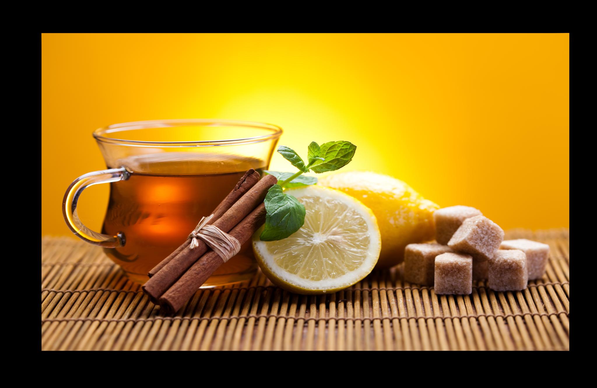 """Еда Постер """"Чай с лимоном"""" п3.png"""