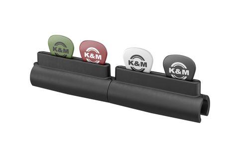 K&M 14510-000-55 Держатель для 6 медиаторов на микрофонную стойку