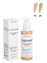 Enough Тональная основа с коллагеном 3-в-1 Collagen whitening foundation 100 мл