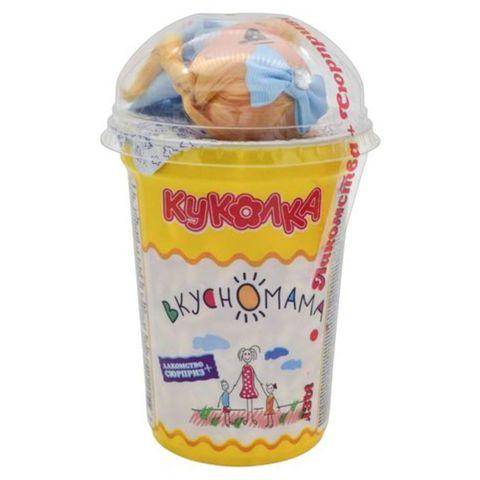 Воздушный рис ВКУСНОМАМА в карамели с сюрпризом Куколка 70 г РОССИЯ
