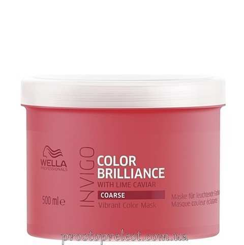 Wella Invigo Color Brilliance Mask Coarse - Маска для жорсткого фарбованого волосся 500мл