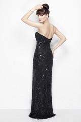 Вечернее черное платье Emma 99859
