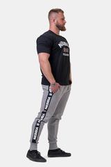 Мужские брюки джоггеры Nebbia Golden Era sweatpants 196 light grey