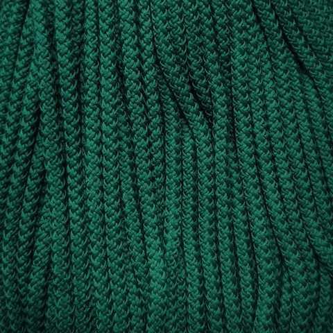 Шнур полиэфирный 5мм с сердечником 200м, №79 Зеленый