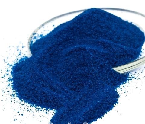 Песок кварцевый синий
