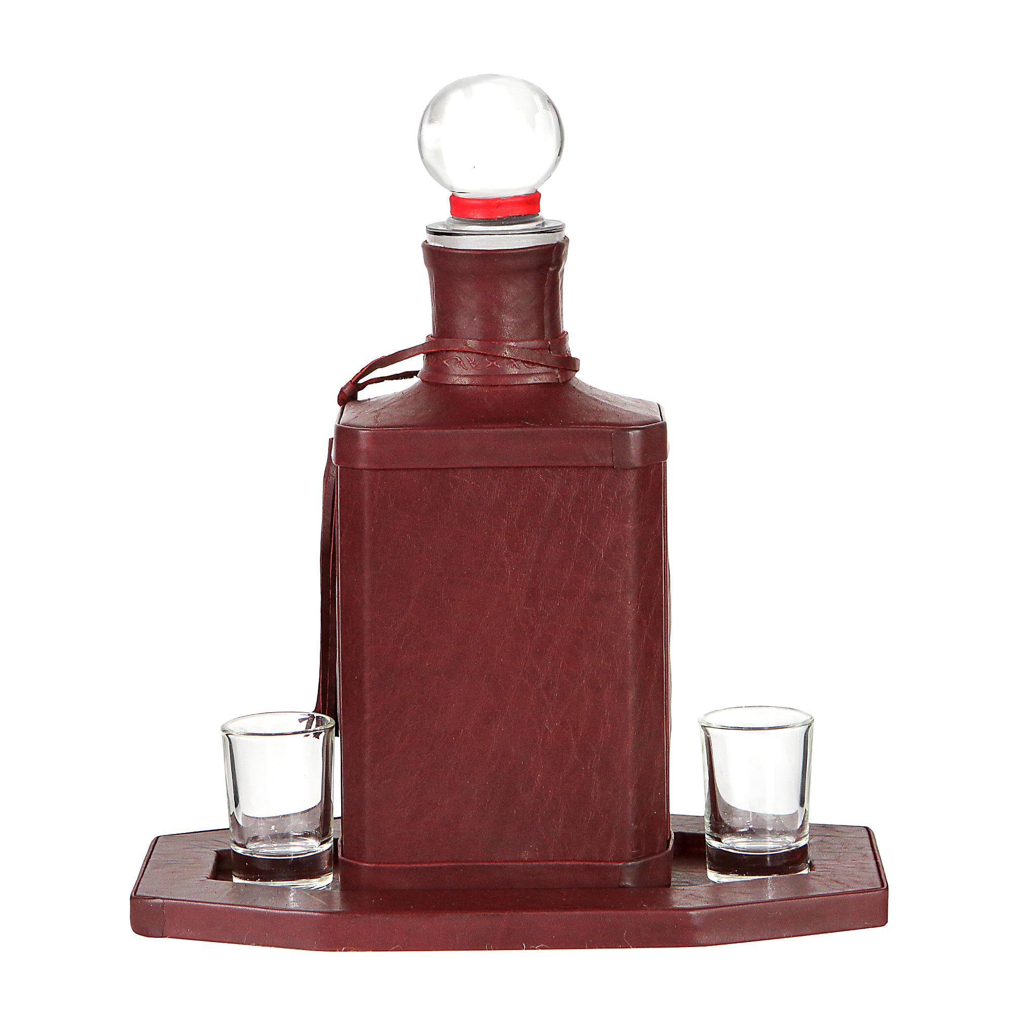 Графин декоративный | Вино рождает храбрецов
