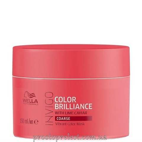Wella Invigo Color Brilliance Mask Coarse - Маска для жорсткого фарбованого волосся