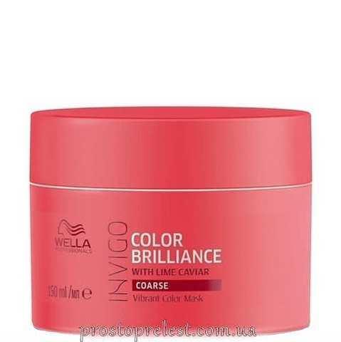 Wella Invigo Color Brilliance Mask Coarse - Маска для жестких окрашенных волос