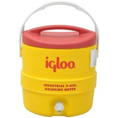 Изотермический пластиковый контейнер Igloo 10 Gal 400 series yellow
