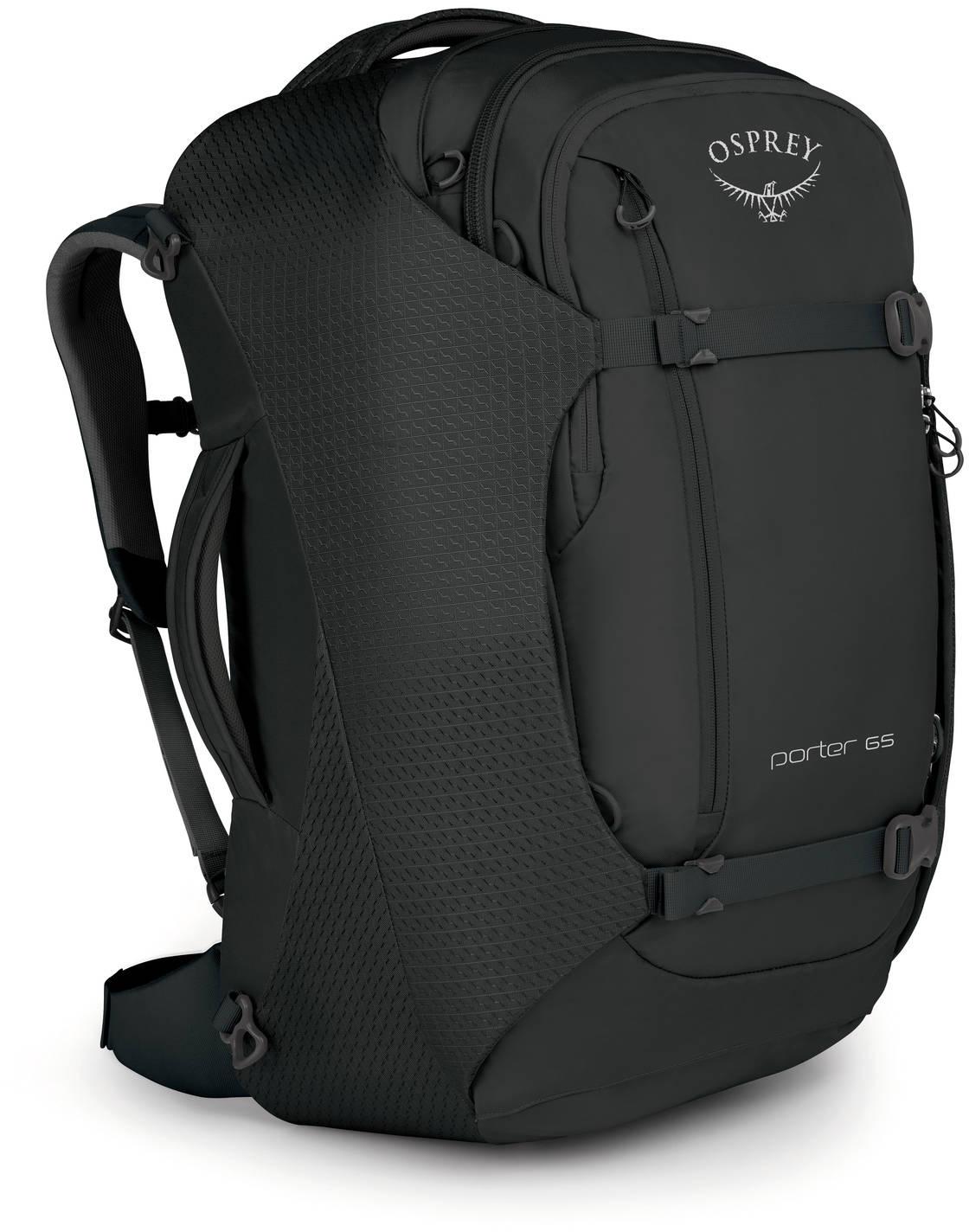 Сумки-рюкзаки Сумка-рюкзак Osprey Porter 65 Black Porter_65_F17_Side_Black_web.jpg