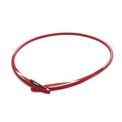 Ожерелье PHITEN EXTREME CROSS (красно-белый)