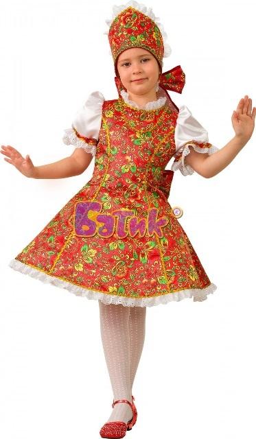 Карнавальный костюм детский  Марьюшка