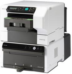 Текстильный принтер Ricoh Ri 100. Конфигурация c печкой и комплектом картриджей.