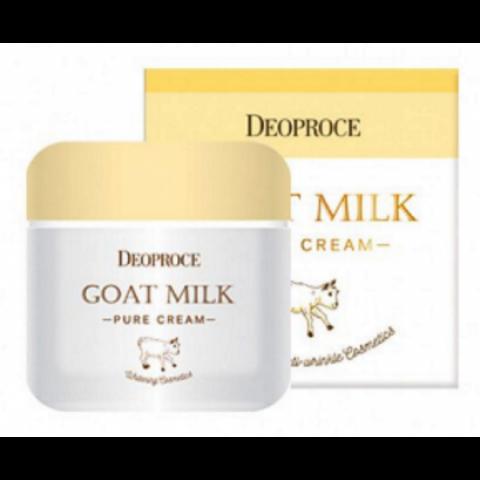 Deoproce Goat Milk Pure Cream 50g