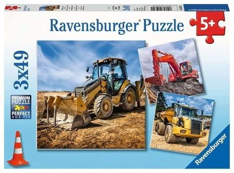 Puzzle Digger at work!  3x49 pcs