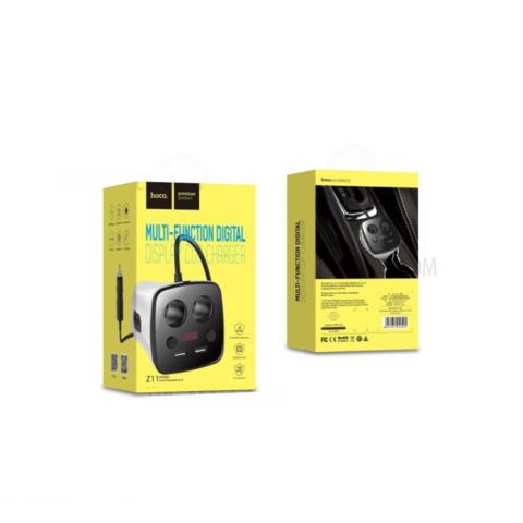 Купить автомобильный адаптер Hoco Z11
