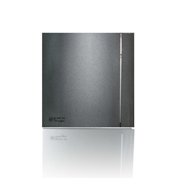 Silent Design series Накладной вентилятор Soler & Palau SILENT 100 CHZ DESIGN GREY (датчик влажности) 007грей.jpeg