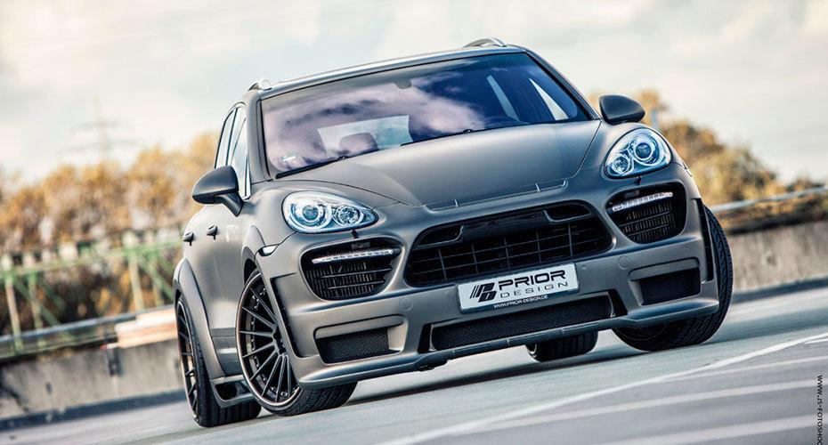 Обвес Prior Design для Porsche Cayenne 958 Копия