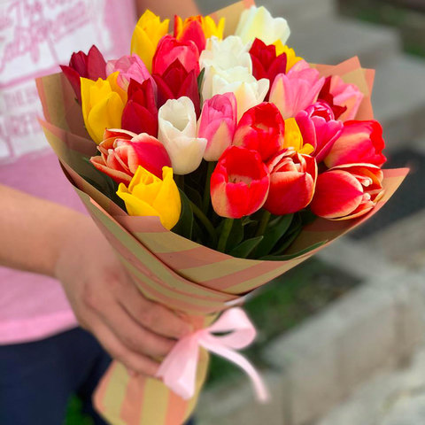 Ассорти из тюльпанов